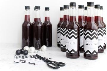 Rezept Glühweinsirup - ein perfektes Geschenk aus der Küche
