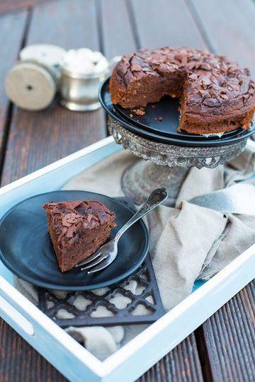 Rezept Glutenfrei Backen – Dattel Schoko Bananen Kuchen Rezept