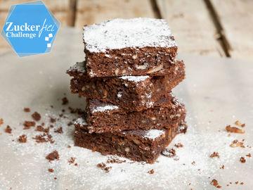 Rezept Glutenfreie Brownies ohne Zucker und Ei
