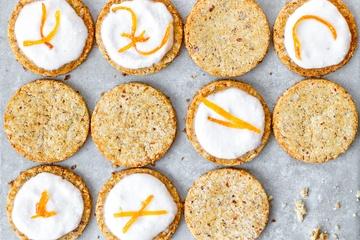 Rezept Glutenfreie Kekse mit Kokosmehl und Grapefruitsaft