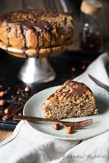 Rezept Glutenfreier Maronen-Haselnusskuchen