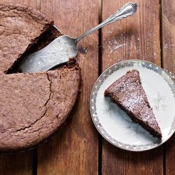Rezept Glutenfreier Schoko-Mandelkuchen