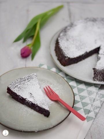 Rezept Glutenfreier Schokoladenkuchen mit Olivenöl