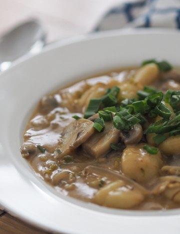 Rezept Gnocchi in Kokos-Curry-Sauce