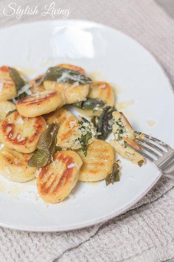 Rezept Gnocchi mit Kräuter-Käse-Füllung