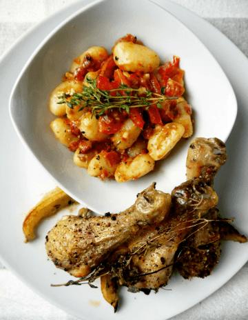 Rezept Gnocci-Salat mit würzigem Hähnchen