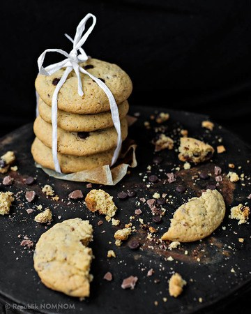 Rezept Goey Chewy Heaven: Chocolate Chip Cookies!