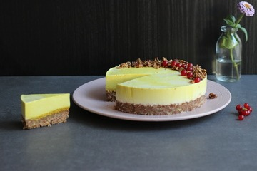 Rezept Golden Milk Cheesecake mit Vollmilchschokolade