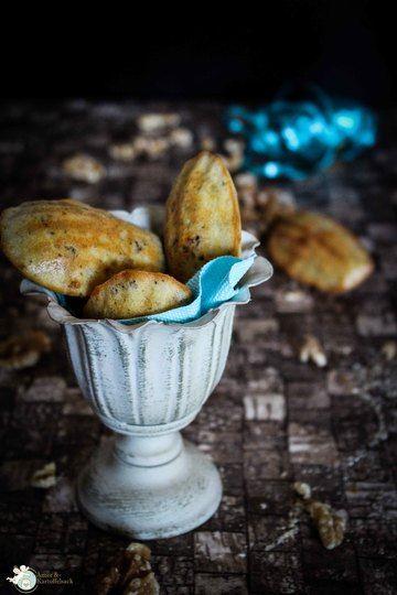 Rezept Gorgonzola-Walnuss-Madeleines