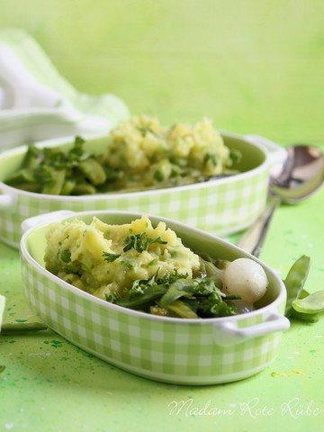 Rezept Gourmet-Kartoffelstampf mit zweierlei Erbsen