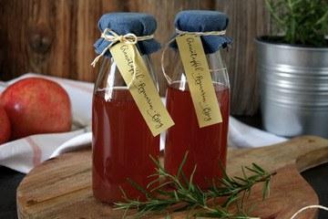 Rezept Granatapfel-Rosmarin-Essig