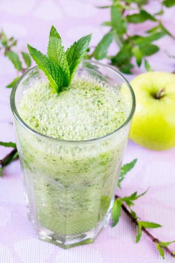 Rezept Granny Smith – Minze Smoothie