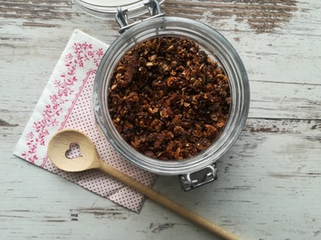 Rezept Granola - lowcarb