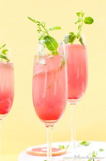 Rezept Grapefruit-Cocktail / Mocktail
