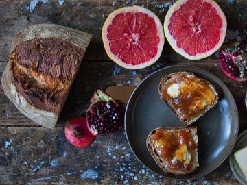 Rezept Grapefruit-Granatapfel-Marmelade