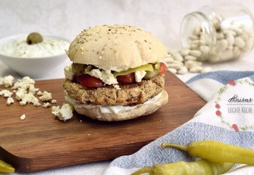 Rezept Greek Burger
