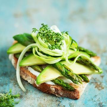 Rezept Green Breakfast-Avocado Spargel Sandwich & ratzfatz Aioli