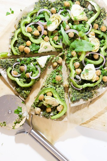 Rezept Green Goddess Pizza