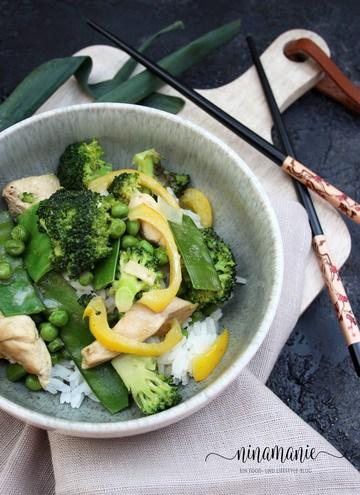 Rezept Green Matcha Curry