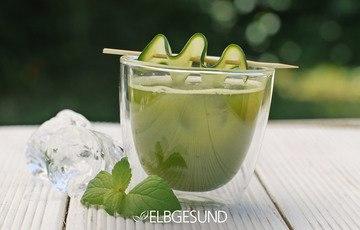 Rezept Green Mocktail: Emerald Palmer – herrlich erfrischend!