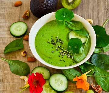 Rezept Green Smoothie Bowl