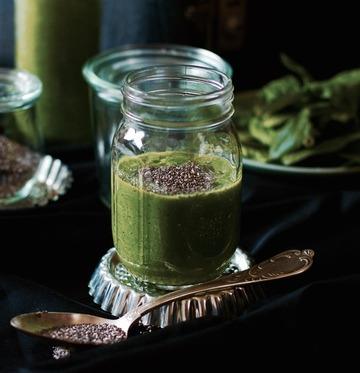 Rezept Green-Smoothie mit Minze und Ingwer