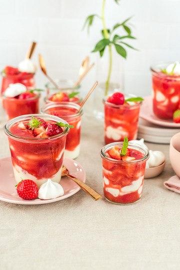 Rezept Griechischer Erdbeer-Traum