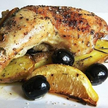 Rezept Griechisches Hähnchen