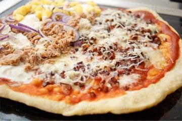 Rezept Grill Pizza schnell selbstgemacht