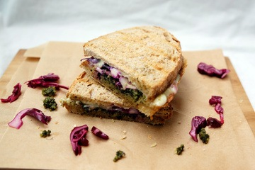 Rezept Grilled Cheese Sandwich