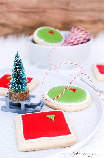 Rezept Grinch-Kekse mit Royal Icing