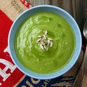 Rezept Gruene Blumenkohlsuppe