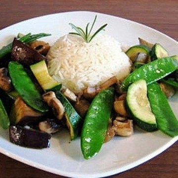 Rezept Grüne Gemüsepfanne