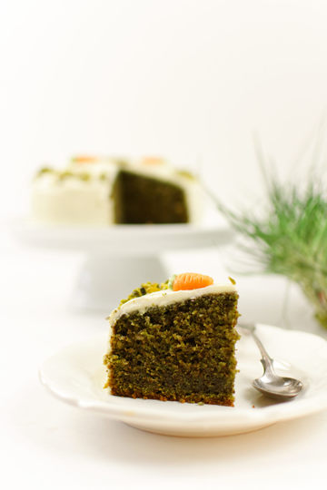 Rezept Grüne Ostertorte mit Frischkäsefrosting