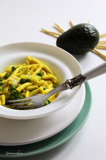 Rezept Grüne Pasta Bowl