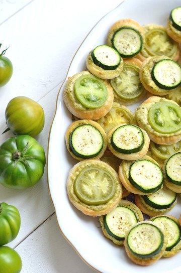 Rezept Grüne Tomaten Kreise