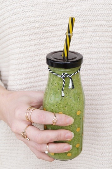 Rezept Grüner Smoothie / Green Smoothie