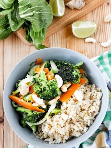 Rezept Grünes Curry mit Brokkoli und Pak Choi