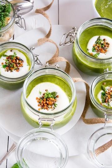 Rezept Grünes Spargelsüppchen