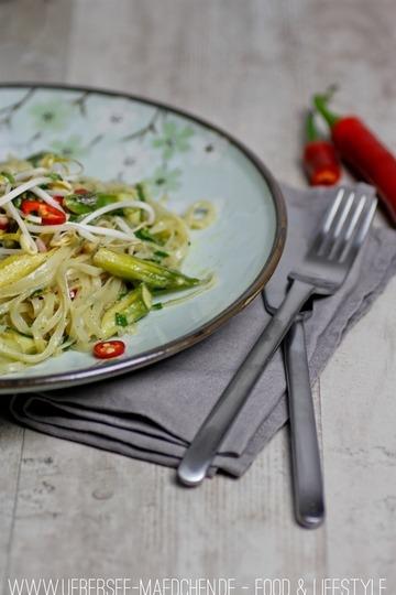 Rezept Grünes Thai-Curry mit Spargel
