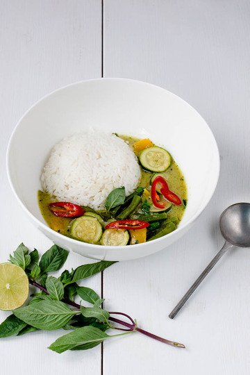 Rezept Grünes Thai Curry