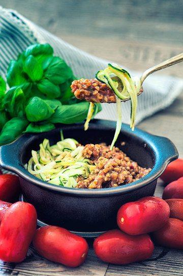 Rezept Grünkern Tomaten Bolognese