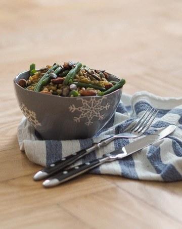 Rezept Grünkernsalat mit Ingwer-Dressing