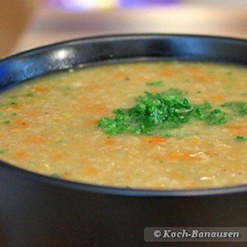 Rezept Grünkernsuppe