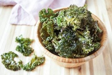 Rezept Grünkohl Chips selbstgemacht