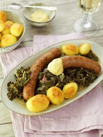Rezept Grünkohl mit Pinkel