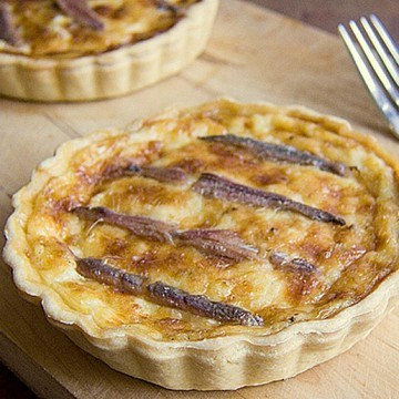 Rezept Gruyére-Tartelettes mit Anchovis