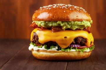 Rezept Guacamole-Beef-Burger