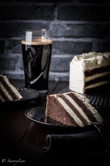 Rezept Guinness Layer Cake