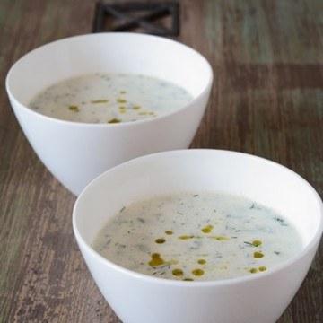 Rezept Gurken-Joghurt-Suppe